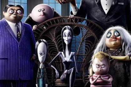 动漫电影《亚当斯一家2》定档 怪物一家踏上爆笑旅途
