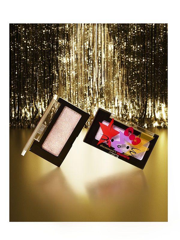 萌力全开,摇滚潮趴 ! HELLO KITTY x 植村秀限量联名 绝对让你在圣诞派对成全场焦点 !