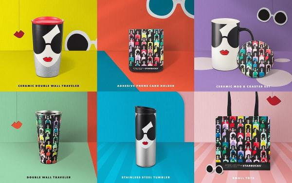 星巴克再度与Alice + Olivia新推联名商品!不锈钢杯、马克杯、零钱包、熊宝宝超可爱!