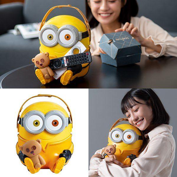 可爱爆击!麦当劳「小小兵BOB抱抱置物篮」台湾首卖!
