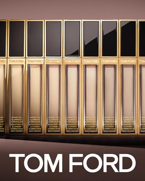 TOM FORD最上镜奢华立体遮瑕膏,携手绝美最上镜奢华双色颊彩盘,创造肌肤光影极致美学!
