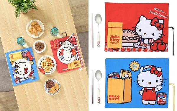 全联集点送Hello Kitty!9款居家生活料理小物,造型盘碟组、围裙手套全部超可爱!