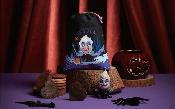 Aunt Stella万圣节「迪斯尼反派系列组合束口袋」黑魔女、乌苏拉、库伊拉手工饼干超应景