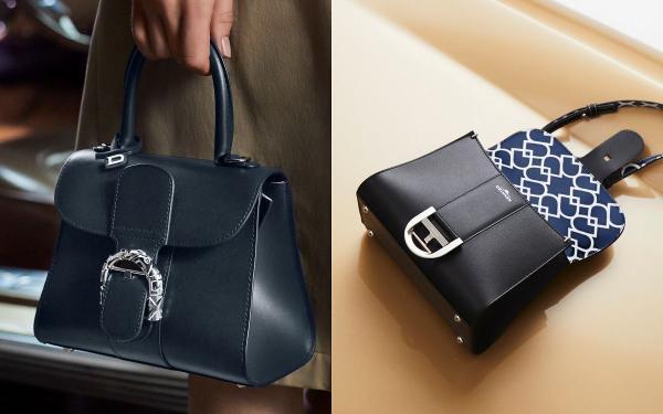 DELVAUX最新几何印花系列「水桶包、链带小包」耐看又百搭!