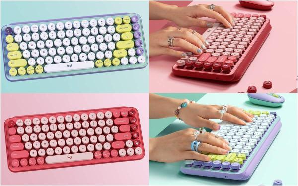 超可爱!棉花糖系打字机无线键盘5款推荐:复古造型,梦幻配色,还有治愈的打字声!