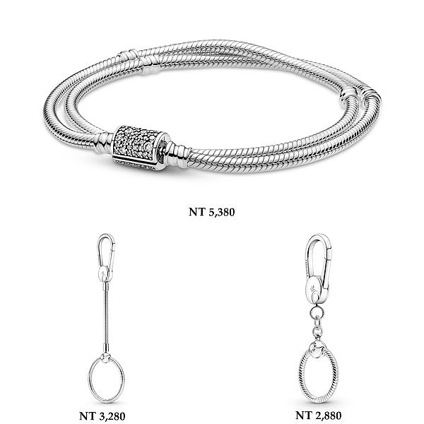 人气潮模李函率性演绎 Pandora秋季珠宝「戒指、项链、手链、耳环」百搭款推荐!