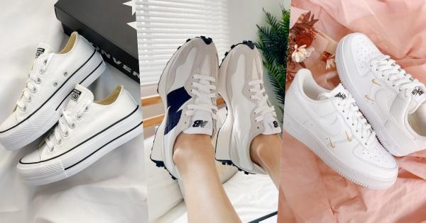 2021更新版:爆款白球鞋TOP10推荐!Nike、NB、adidas…百搭型号,入手不为过!