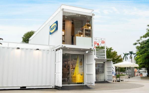 全球首座行动商店!IKEA Hej嘉义货柜店,店内特色开幕一次看,莓果派对冰淇淋限量售卖!
