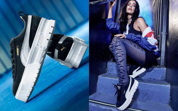 PUMA最美厚底鞋出炉! PUMA MAYZE『妹子球鞋』一穿直接腿激长10公分!