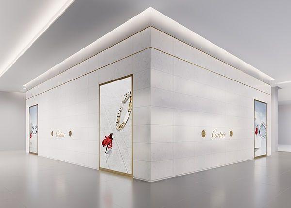 近50平卡地亚SOGO复兴馆专卖店新开幕 ! 日常随身香水全新上市,包装就超美!