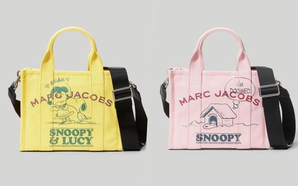 时髦悄悄话:Marc Jacobs超可爱The Peanut史努比系列!小托特、MJ相机包都想收