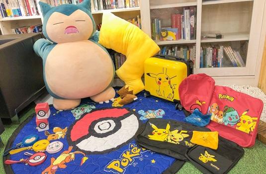 全家「宝可梦集点」皮卡丘行李箱、大型卡比兽玩偶快来收服!