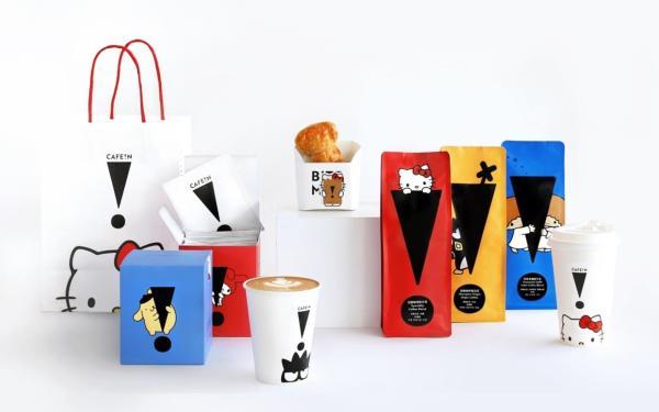 融化咖啡控的心!三丽鸥X CAFE!N合推咖啡豆、 滤挂咖啡,现做餐饮也超Q!