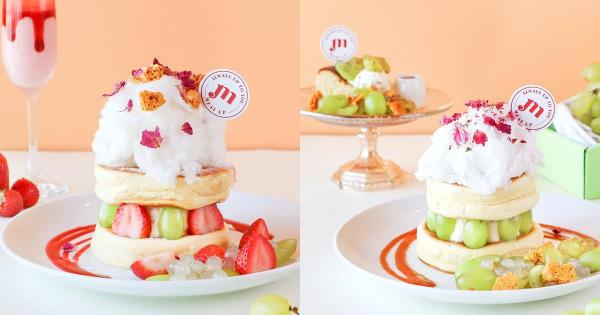 Meat Up果实季新餐点:日本冈山葡萄+进口草莓,舒芙蕾、现刨黑松露意大利面