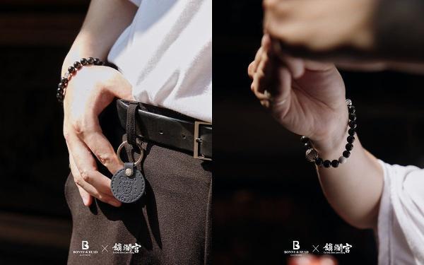 BONNY&READ联名「大甲镇澜宫」开运系列「恋爱手环、防小人尾戒」迎来好运满满!