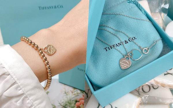 女生礼物推荐!Tiffany小蓝盒热门款TOP10:微笑项链、T戒指、爱心手链整理!