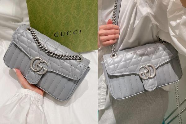 时尚关键字:经典款超低价入手!Gucci新版『GG链带包』迷雾灰、奶茶色…五倍券领到直接结帐!
