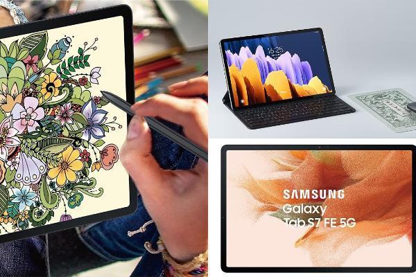三星Galaxy Tab S7 FE Wi-Fi版:极美粉色+12.4吋大荧幕,剧院级听觉效果!