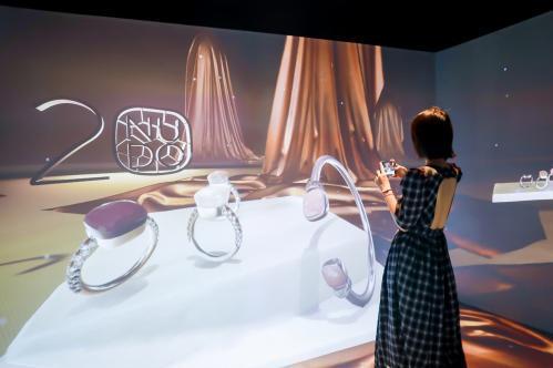 Pomellato宝曼兰朵Nudo系列二十周年纪念限时展闪耀揭幕