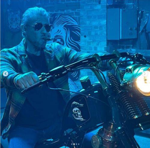 动作电影《敢死队4》进入了实拍阶段 史泰龙斯坦森现身片场