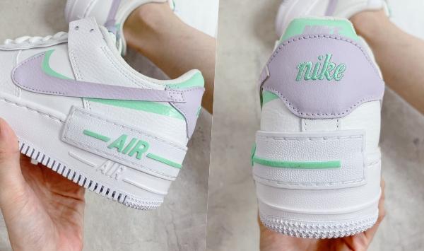 Nike AF1长腿经典鞋!韩妹必收Air Force 1 Shadow、Air Force 1 '07...年度清单一次看
