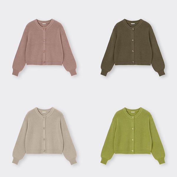 想买新衣服了!GU热销好评Top 1「百元好感针织」针织毛衣、针织背心、外套通通好实搭!