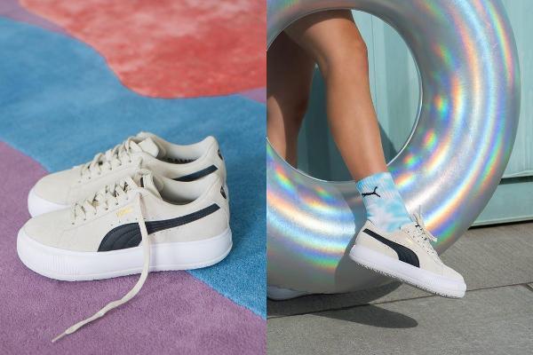 最美厚底球鞋诞生!天后蔡依林指定PUMA『SUEDE MAYU』列入女生必买球鞋!