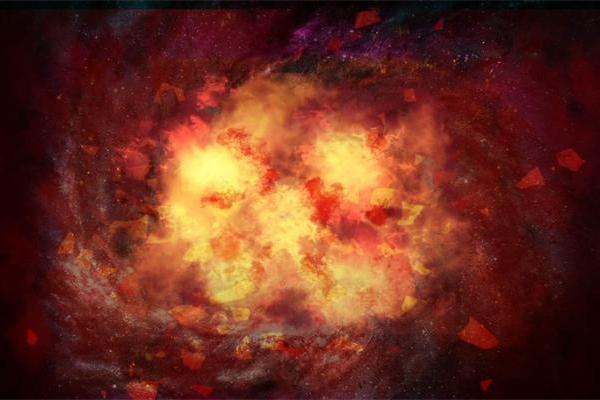 宇宙勘测提供数据:观测到超新星群爆发