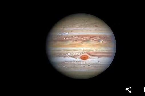 """木星风暴速度越来越快!哈勃观测发现:11年来,""""大红斑""""边缘风速增加8%"""