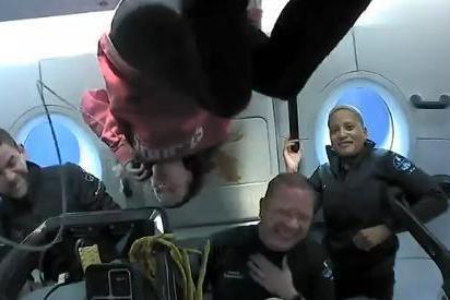 结束太空3日游!SpaceX全平民太空旅游团顺利返回地球