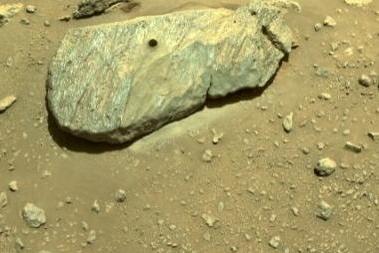 """NASA""""毅力号""""第二次采样来了,人类首次成功采集火星岩石样本!"""