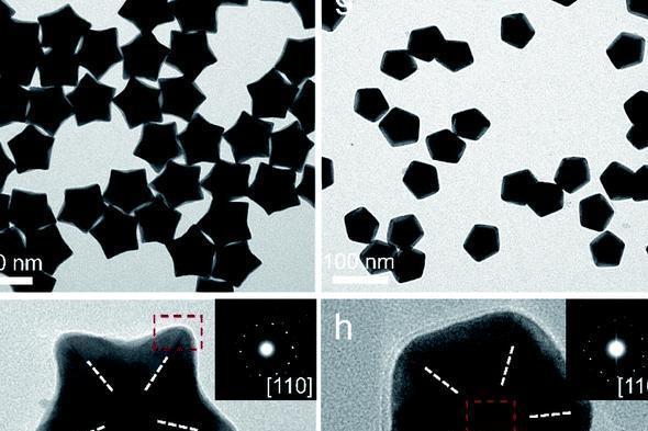 纳米化学新突破!我国科学家成功制造出五重孪晶金纳米晶