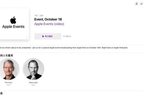 """起死回生?苹果18日开发布会,主持人名单惊现""""乔布斯"""""""