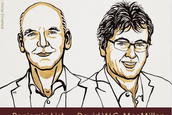 """2021年诺贝尔化学奖揭晓!2名科学家就""""不对称有机催化""""作出突出贡献"""