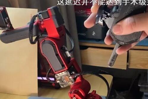 """华为""""天才少年""""回应自制现实版钢铁侠机械臂:只是业余的小项目"""