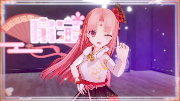 虚拟偶像扇宝与中国绊爱梦幻联动 新生力量人气急升蓄势待发