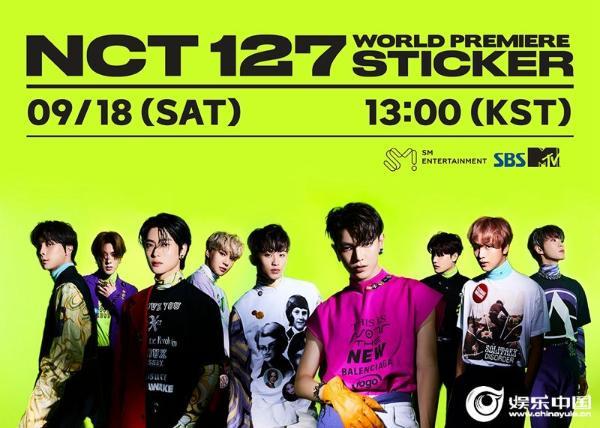NCT 127正规3辑《Sticker》回归秀海报.jpg