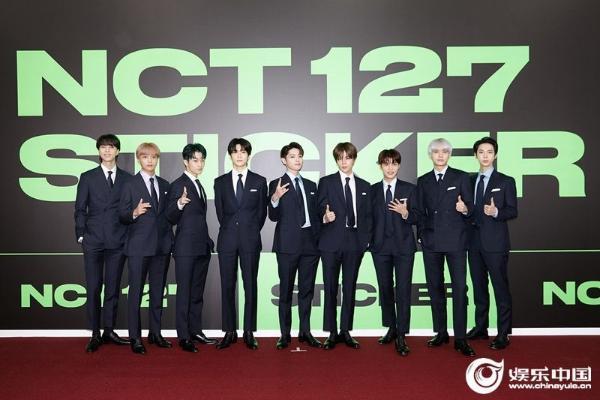 NCT 127正规3辑《Sticker》在Billboard斩获佳绩