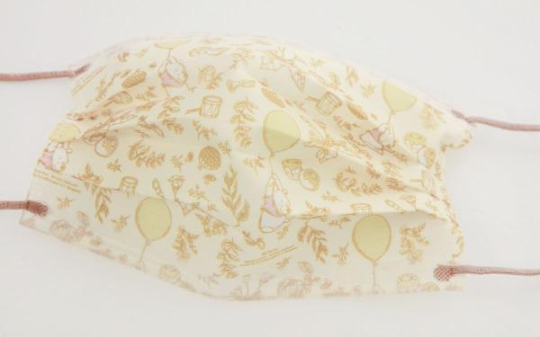 Grace gift小熊维尼口罩再出梦幻图案!秋季最美焙黄颜色、温柔插画超治愈!