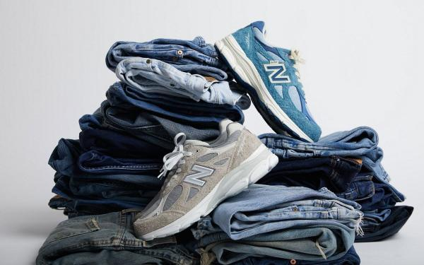LEVI'S X NEW BALANCE联名爆款球鞋即将发售!经典990v3低调米灰、湖蓝,鞋迷赶紧冲!