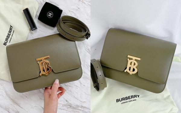 时尚关键字:BURBERRY十款经典TB包推荐:石墨绿、奶茶色、深棕…新款一次看个够!