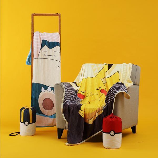 来HOLA收服宝可梦!30款居家生活小物:卡比兽懒骨头、百变怪大抱枕、造型碗盘超Q