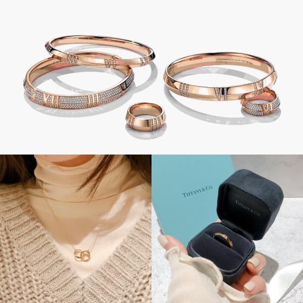 时尚关键字:别只知道爱心!Tiffany更新许愿款:AtlasX戒指、手环、项链,一次看!