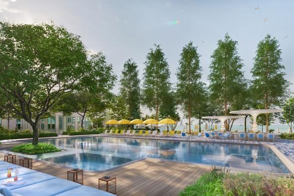 来泰国就住这间!直通海滩的泳池别墅Bangkok Mahanakhon度假酒店新开幕