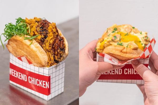 周末炸鸡俱乐部 x Ivorish福冈生吐司联名快闪店!莱姆炸鸡、枫糖法式吐司一次吃到!