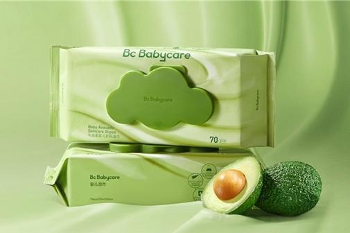 Babycare牛油果湿巾 打造高品质的面部清洁产品