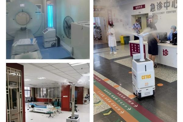 科技战疫|有双擎消毒机器人守护战疫第一线,医护人员觉得很安心