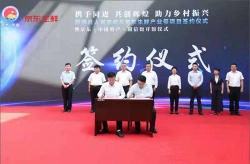 阳信县政府携手京东生鲜 开启阳信鸭梨产业升级之路