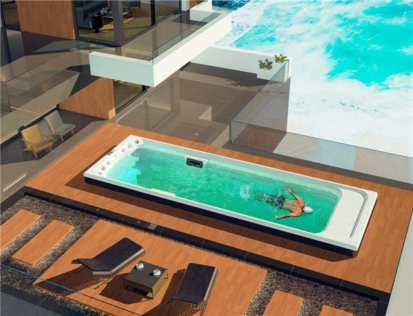 帕纳佳世SPA冲浪泳池,在别墅中享受健康生活
