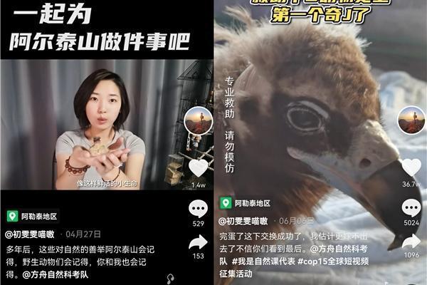 """90后女孩在抖音教网友保护野生动物,被称""""河狸公主"""""""